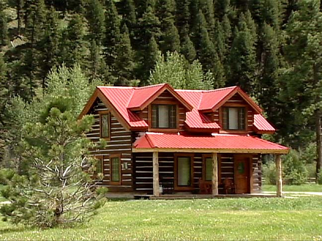Two Story Log Cabin Quotes